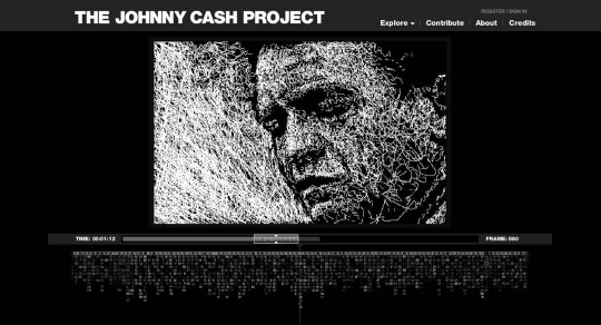 from the Johnny Cash Project