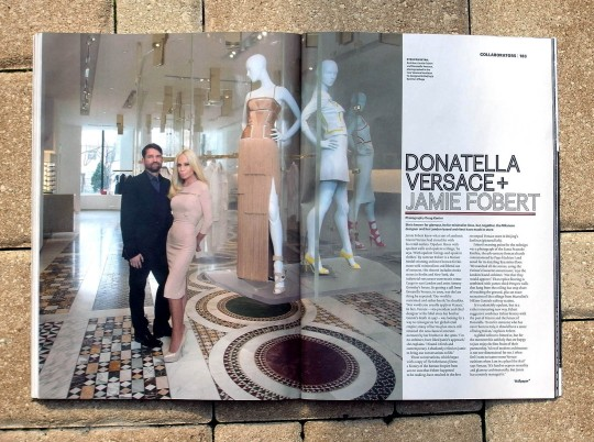 Donatella for Wallpaper
